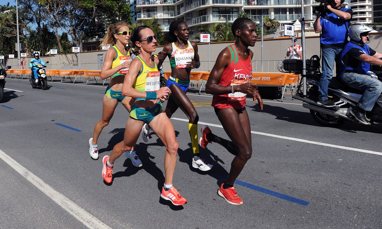 Helalia Johannes takes Commonwealth marathon win