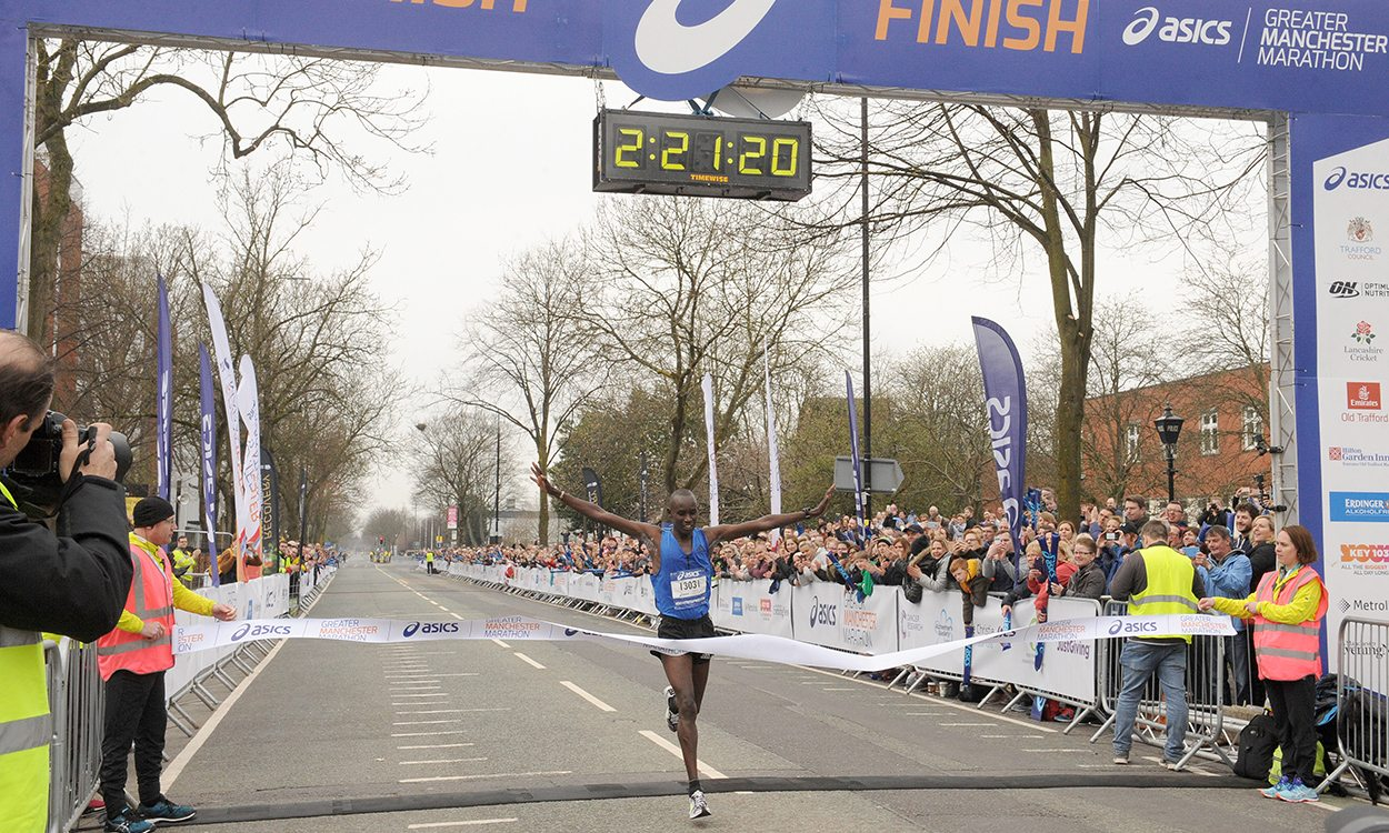 Shadrack Tanui wins Greater Manchester Marathon