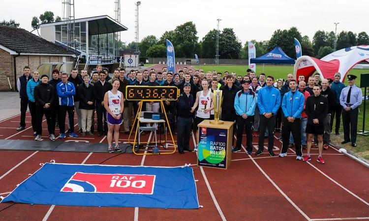 RAF runners smash world 100x10km relay record