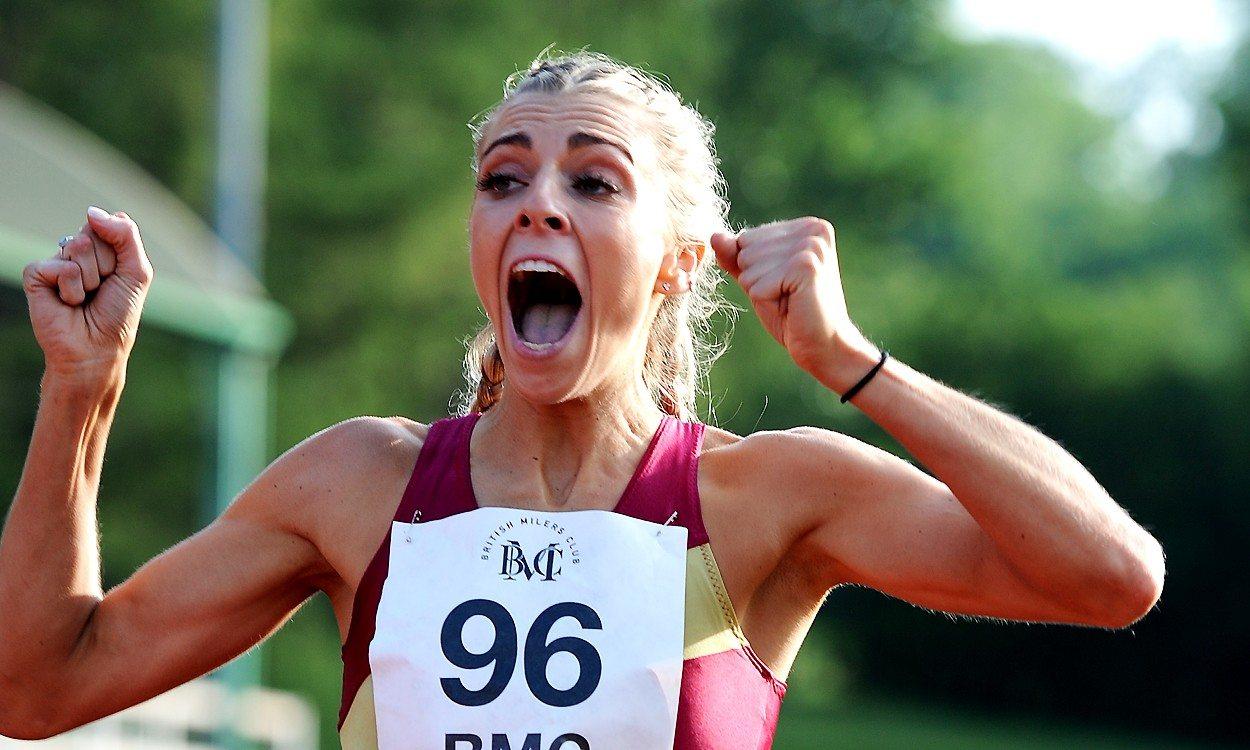 Alexandra Bell breaks BMC GP 800m best in Watford