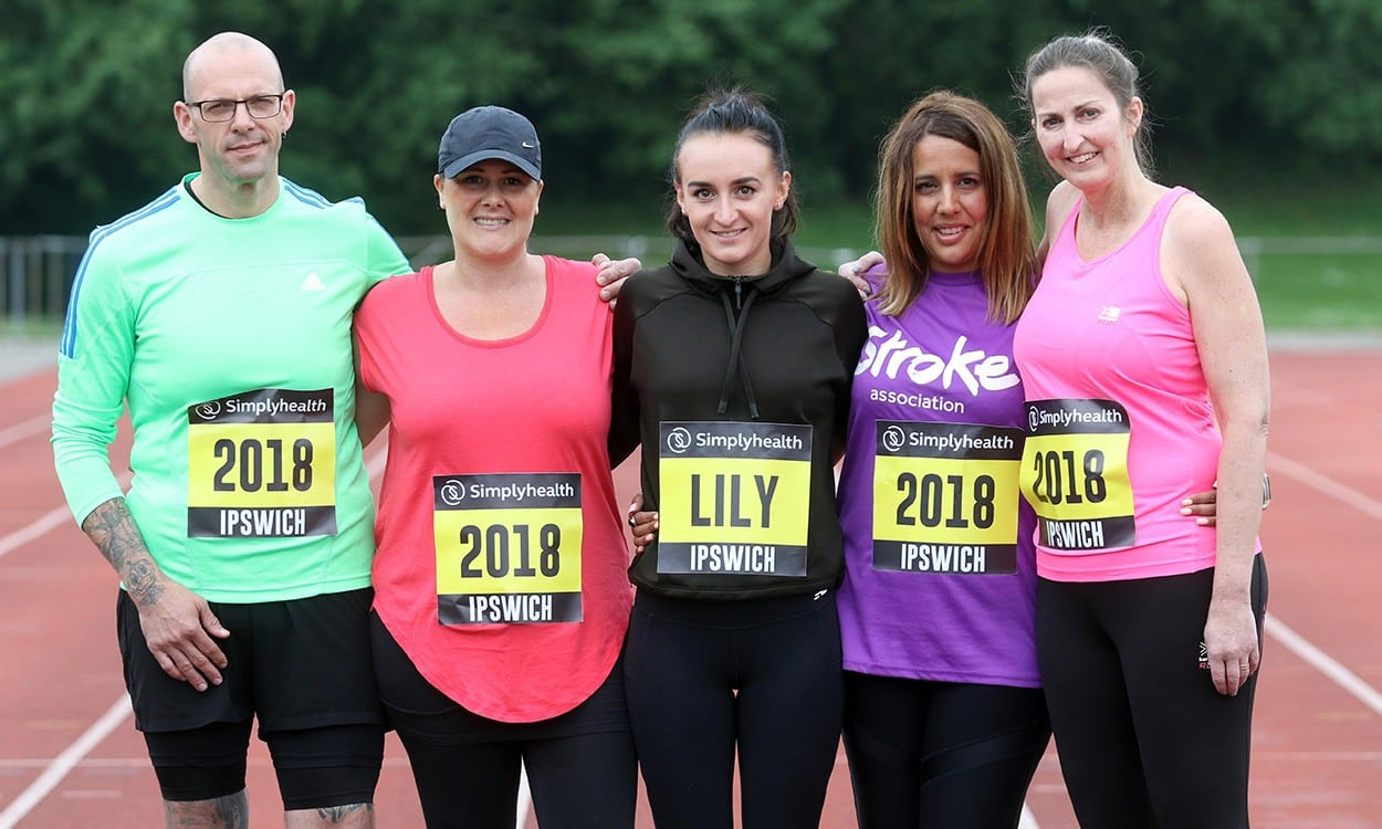 Lily Partridge to support Great East runners