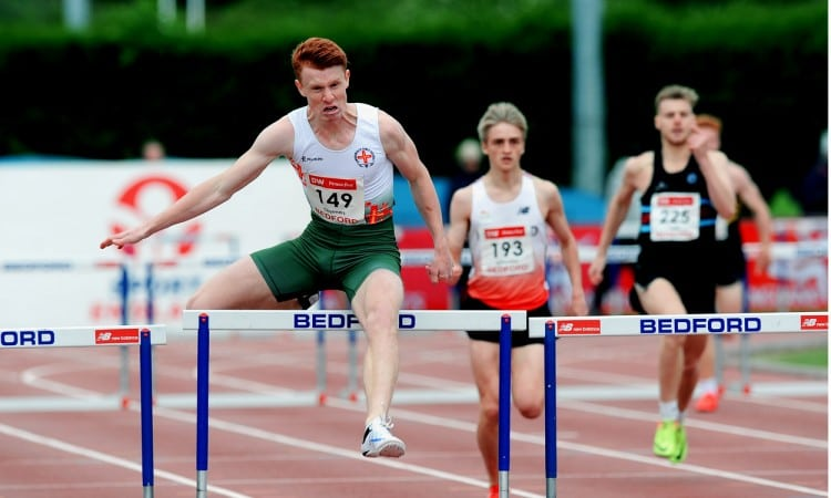 Alastair Chalmers on form at England U20/23 Champs