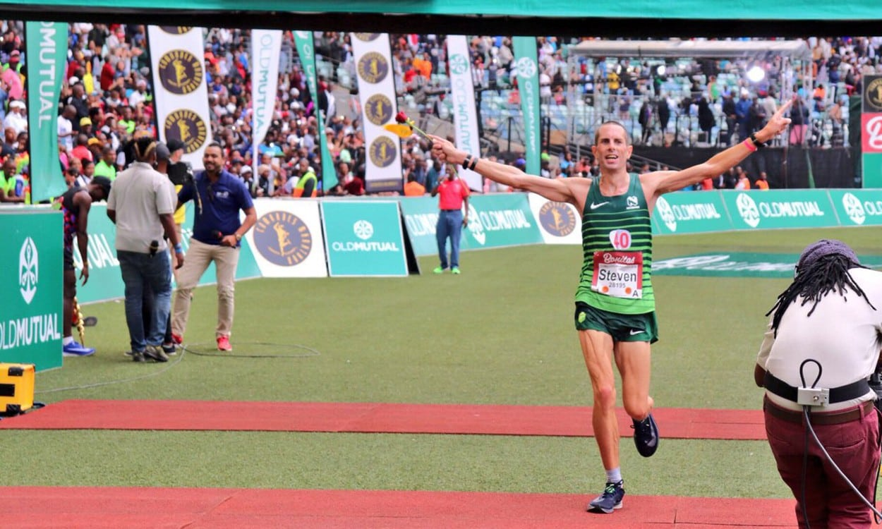 Mthembu wins, Steve Way a superb third at Comrades Marathon – weekly round-up