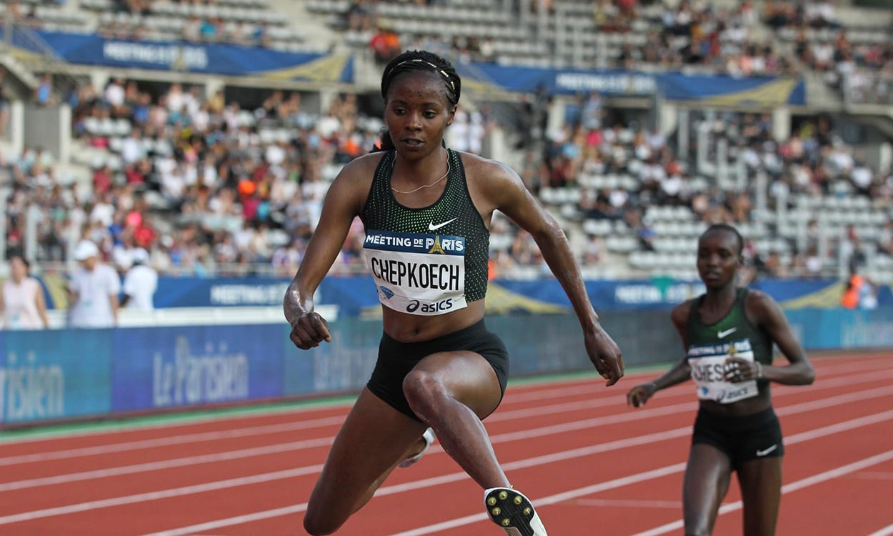 Beatrice Chepkoech smashes steeplechase world record