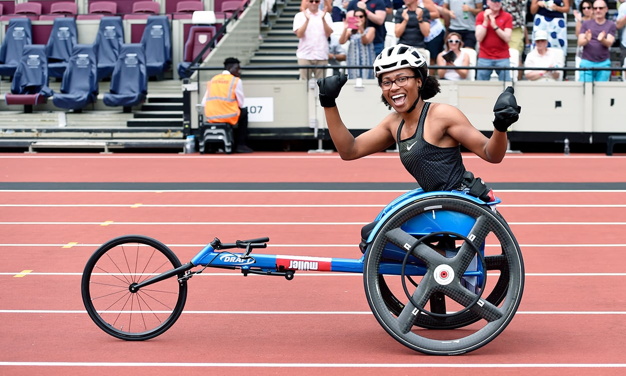 Gold for Kare Adenegan and Vanessa Wallace in Berlin