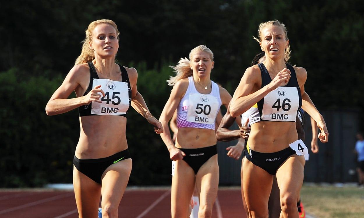 Katie Snowden in form at Eltham BMC GP
