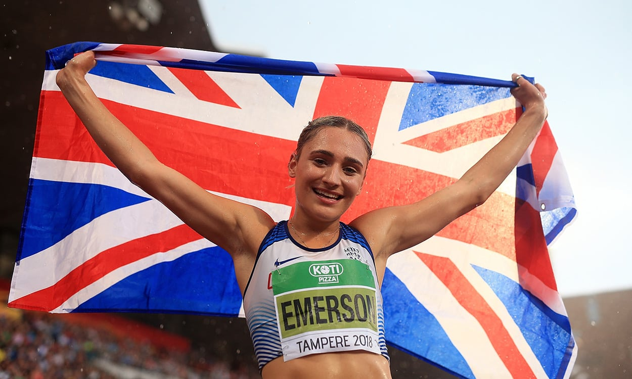 Glorious gold for Niamh Emerson and Jake Norris in Tampere