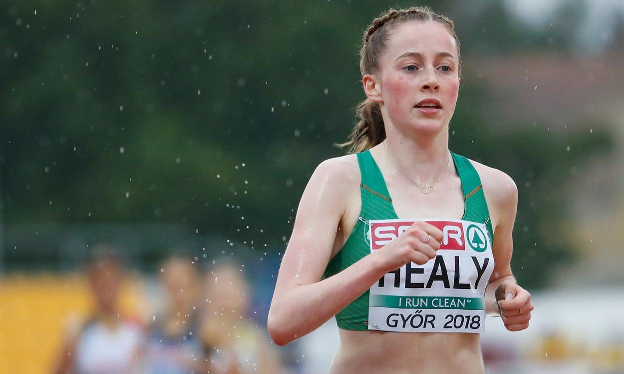Ireland's Sarah Healy wins European U18 3000m