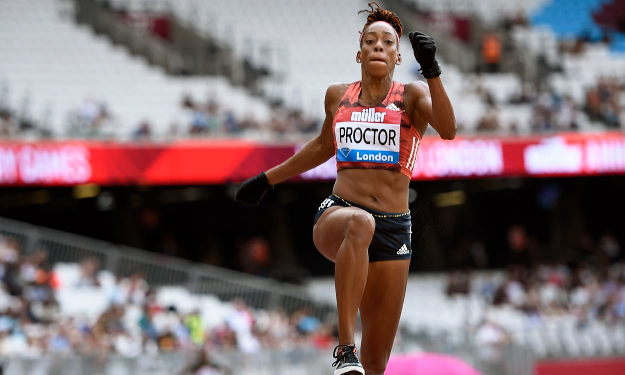 Shara Proctor soars to London long jump win