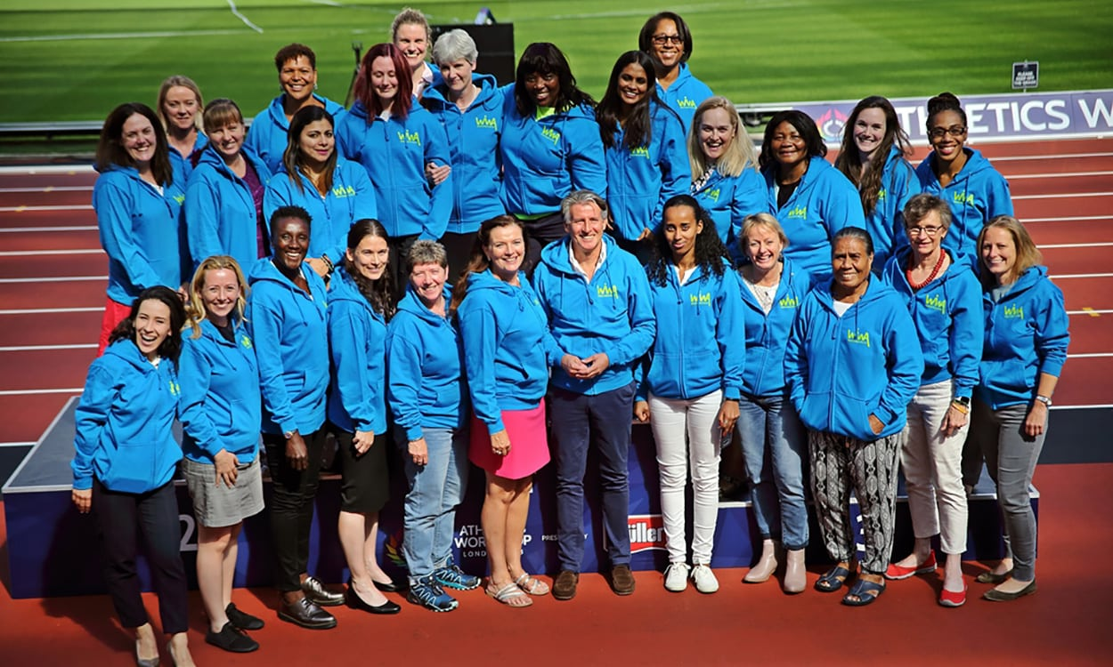 Women in World Athletics members meet in London