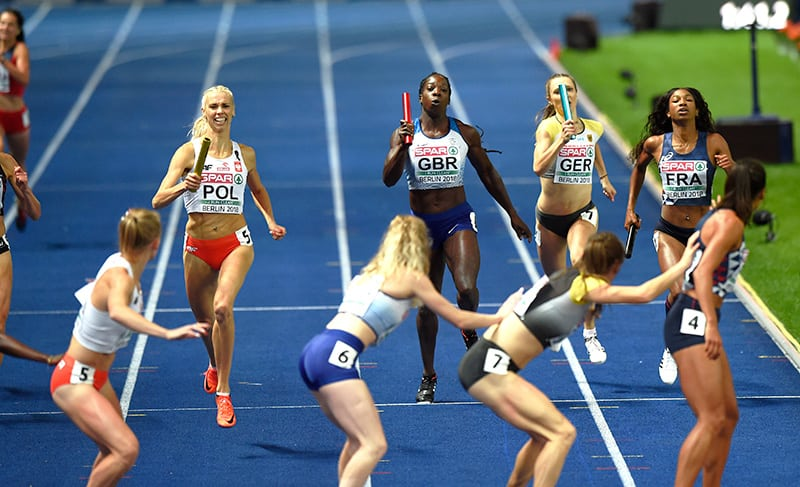 Betting on athletics