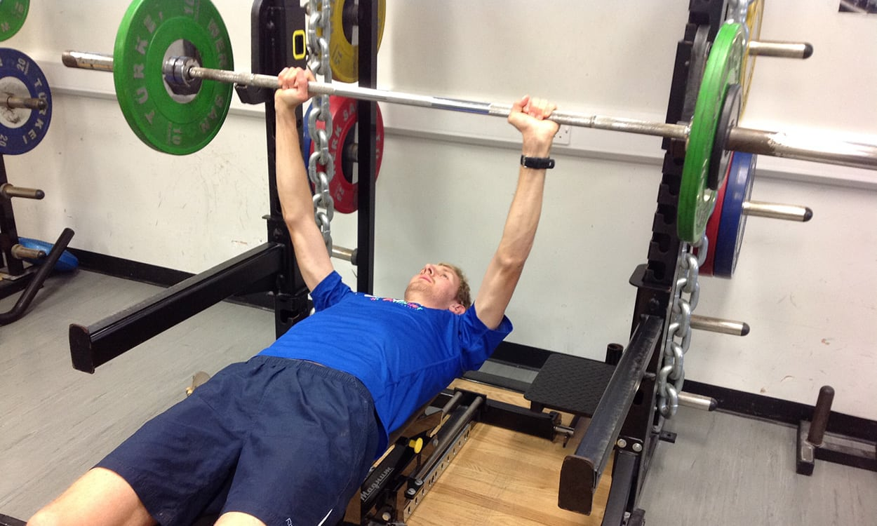 The importance of a good core and strength routine for runners