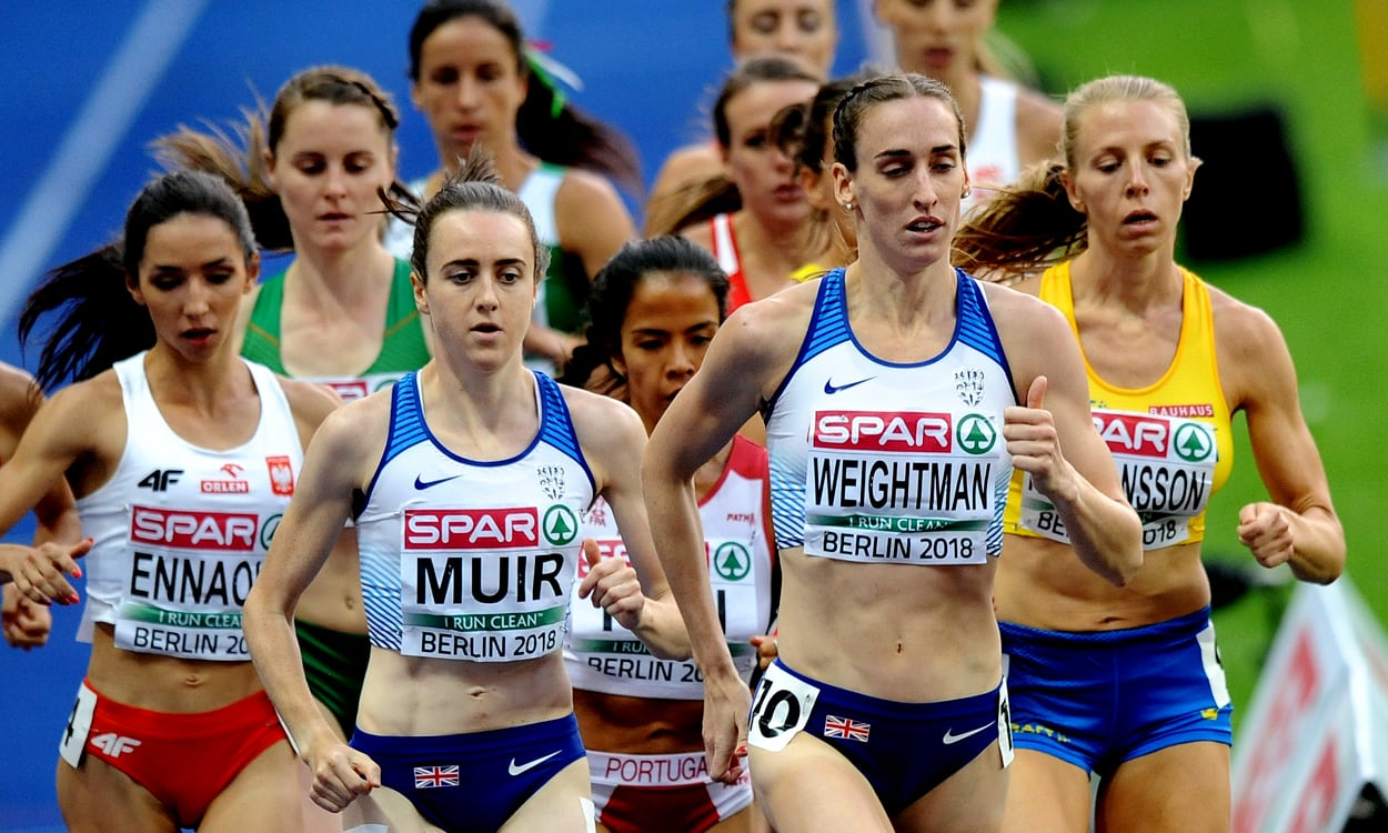 World 1500m lead for Laura Muir in Berlin