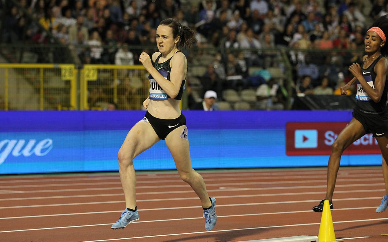 Laura Muir storms to Diamond League victory in Brussels
