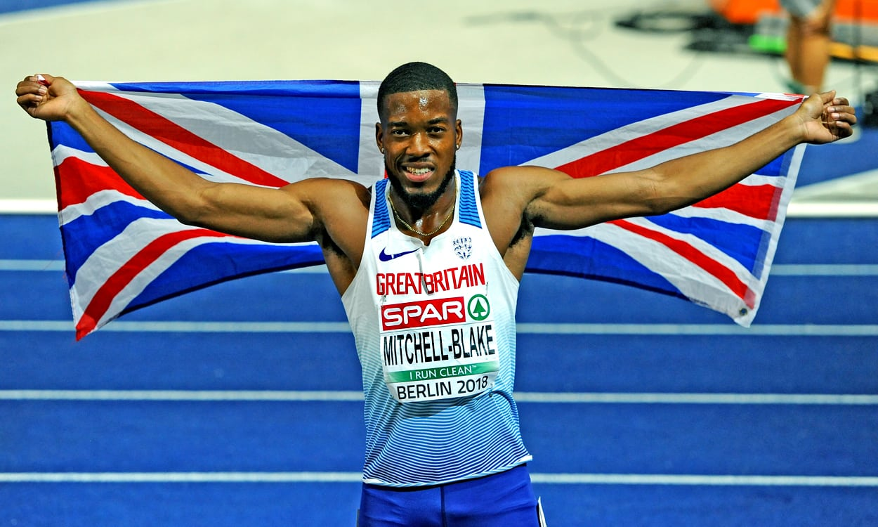 Nethaneel Mitchell-Blake's silver success in Berlin