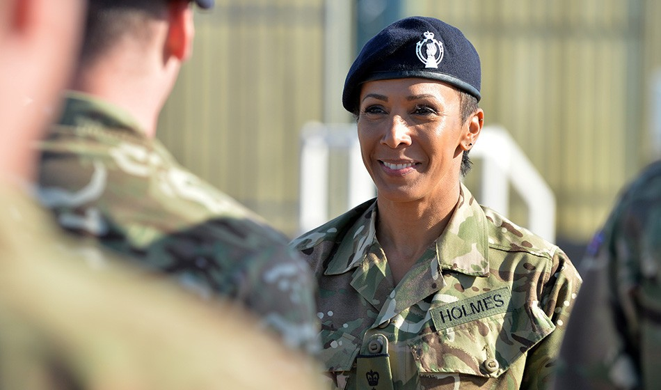 Dame Kelly Holmes becomes Honorary Colonel