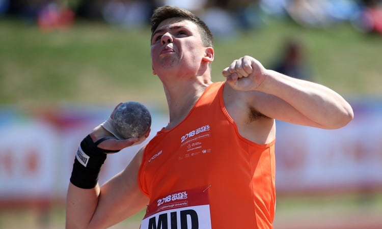 Shot putters shine at School Games