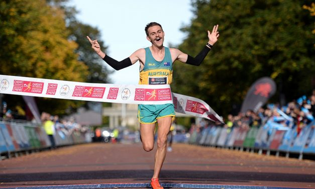 Jack Rayner and Juliet Chekwel win Commonwealth Half titles