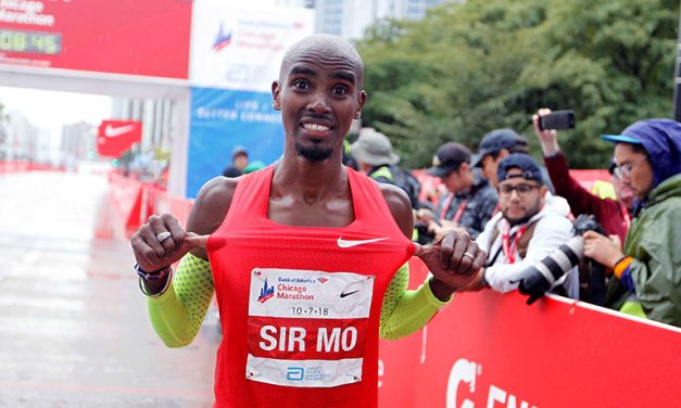 Mo Farah wins Chicago Marathon in European record