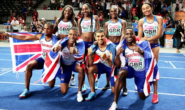 Risers and fallers in British athletics