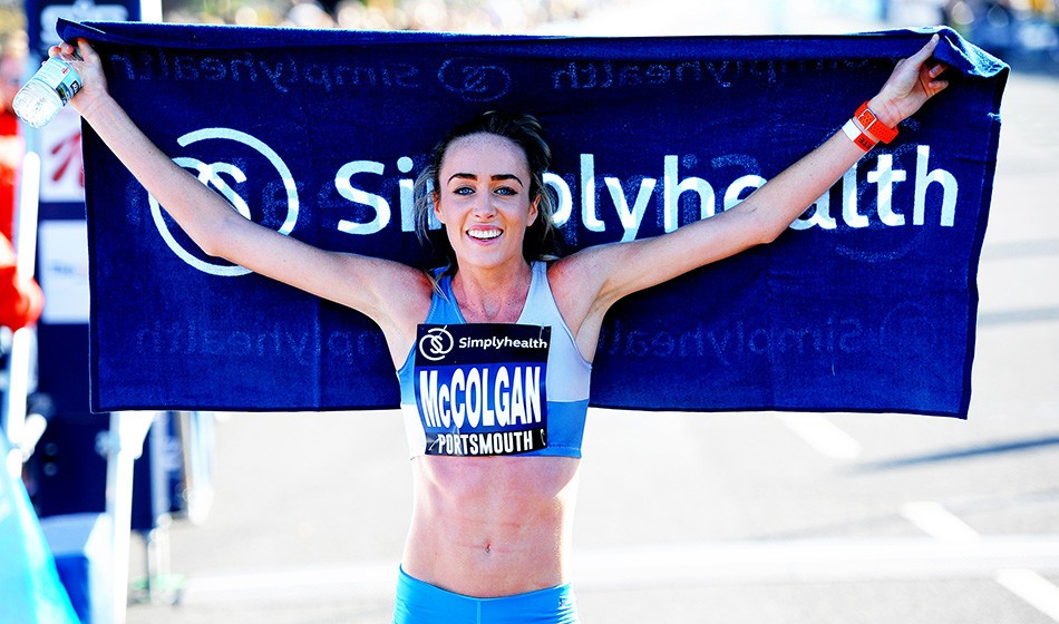 Eilish McColgan aims to emulate mum at Great South Run