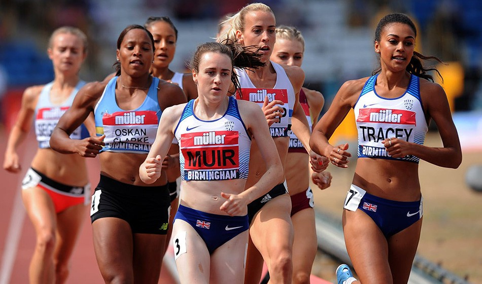 British rankings analysis: Women's track events