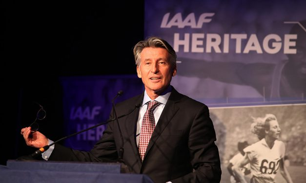 Seb Coe launches IAAF World Athletics Heritage Plaque