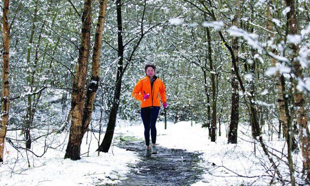 Christmas training for runners