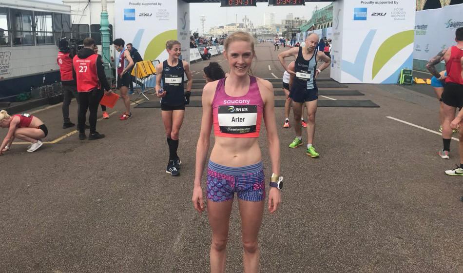 Charlotte Arter clocks parkrun record in Cardiff