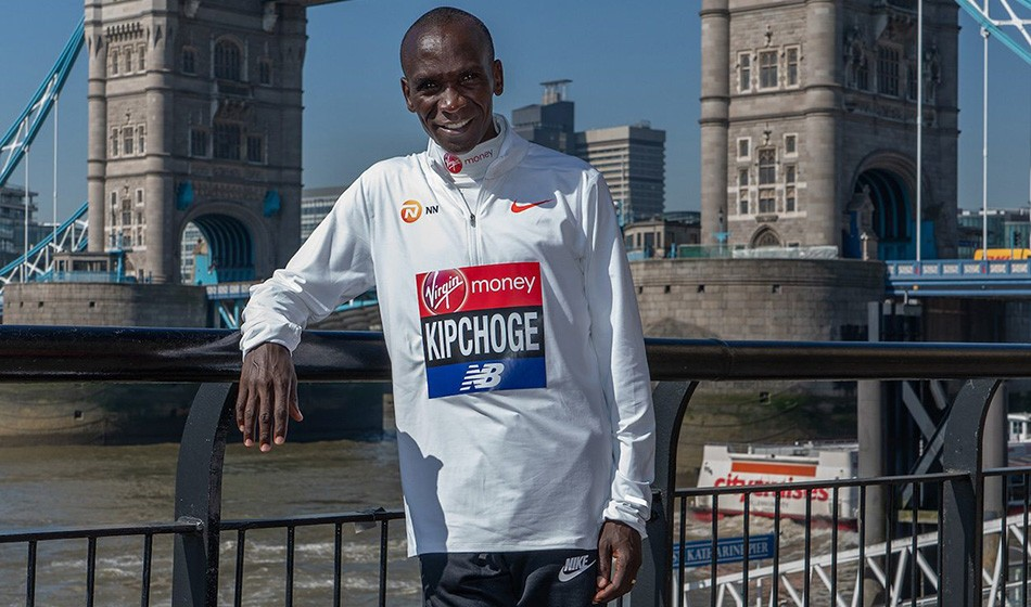 Eliud Kipchoge and Kenenisa Bekele talk training and sub-2
