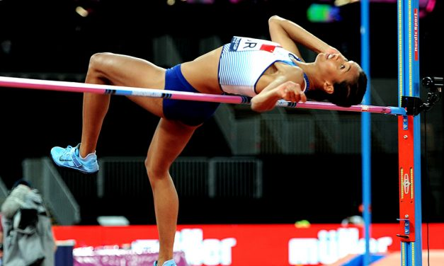 Morgan Lake equals UK indoor high jump record