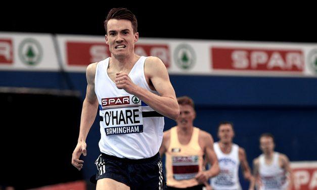 Chris O'Hare captures 3000m British indoor title