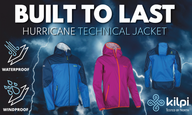 Win a Kilpi HURRICANE jacket worth £119.99