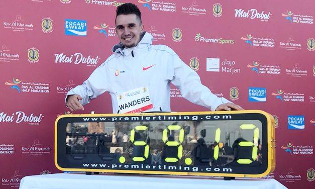 Julien Wanders smashes European half-marathon record in Ras Al Khaimah