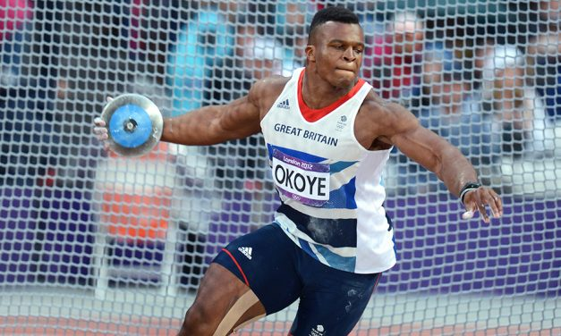 Olympian Lawrence Okoye arrested in America