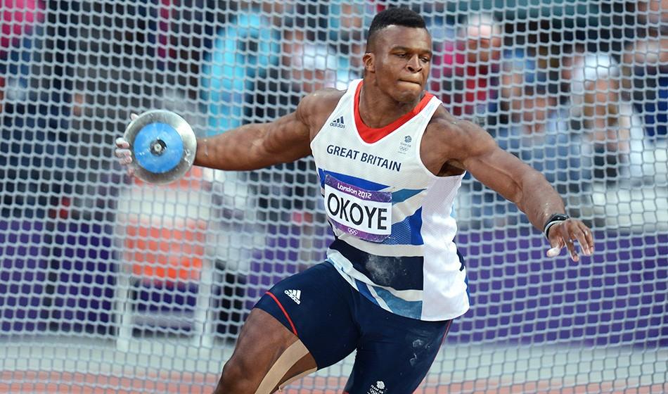 Olympian Lawrence Okoye arrested in America