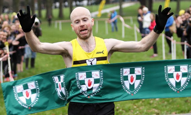 Mark McKinstry and Breege Connolly win NI & Ulster cross titles