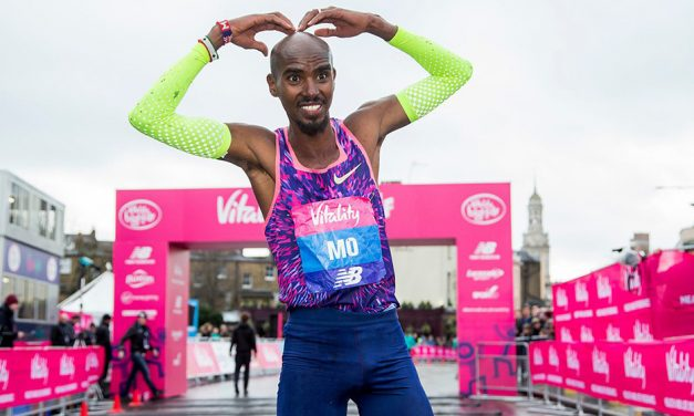 Mo Farah withdraws from The Vitality Big Half