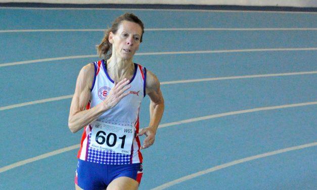 Britain dominate 1500m at World Masters Indoor Championships
