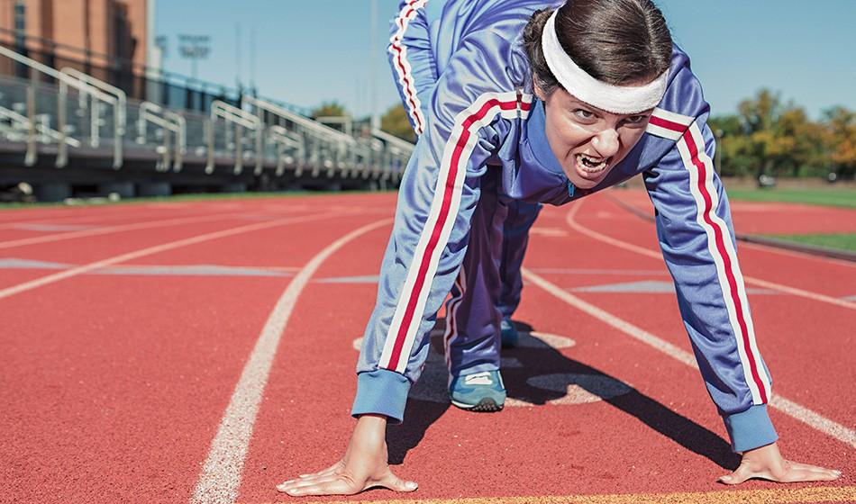 Athletics mental health: Addicted to training