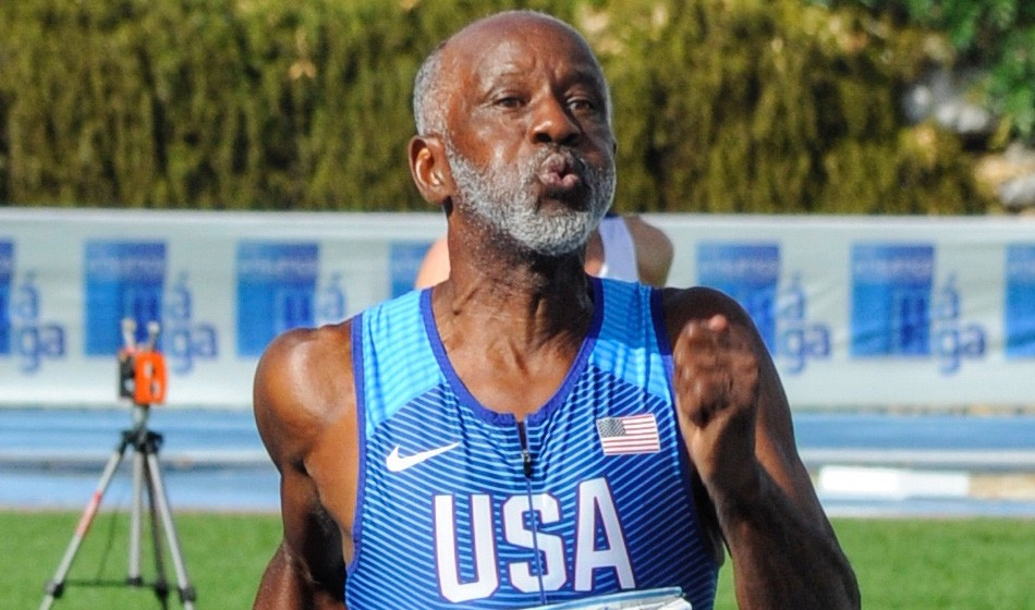 USA's Charles Allie breaks M70 200m record with 26.11 in Torun