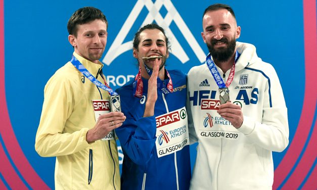 Comeback king Gianmarco Tamberi wins high jump in Glasgow