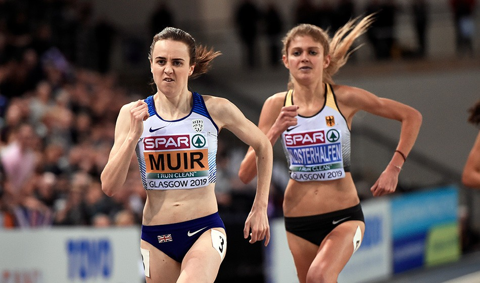 Laura Muir delivers as she scorches her way to 3000m gold