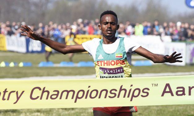 Junior gold for Milkesa Mengesha at World Cross