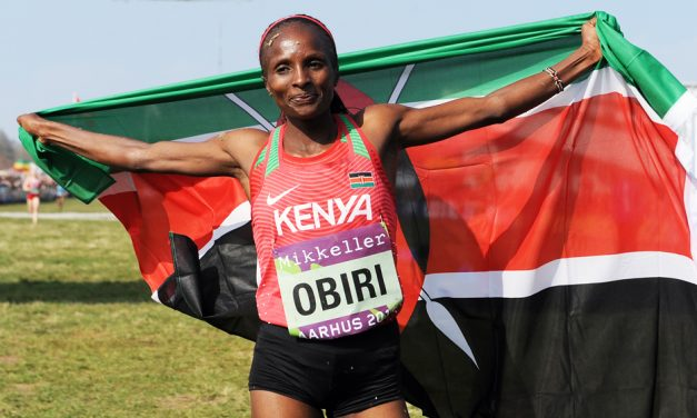 Hellen Obiri runs her way into history with World Cross victory