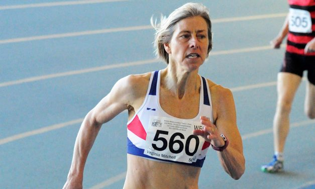 Virginia Mitchell breaks world W55 800m record in Torun