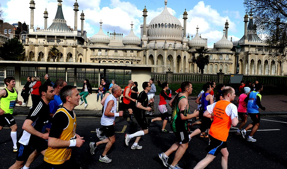 Runners ready for Brighton