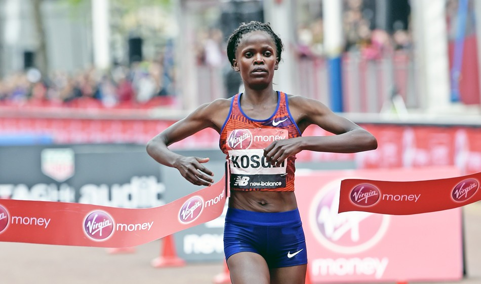 Why Brigid Kosgei is the woman to beat in London