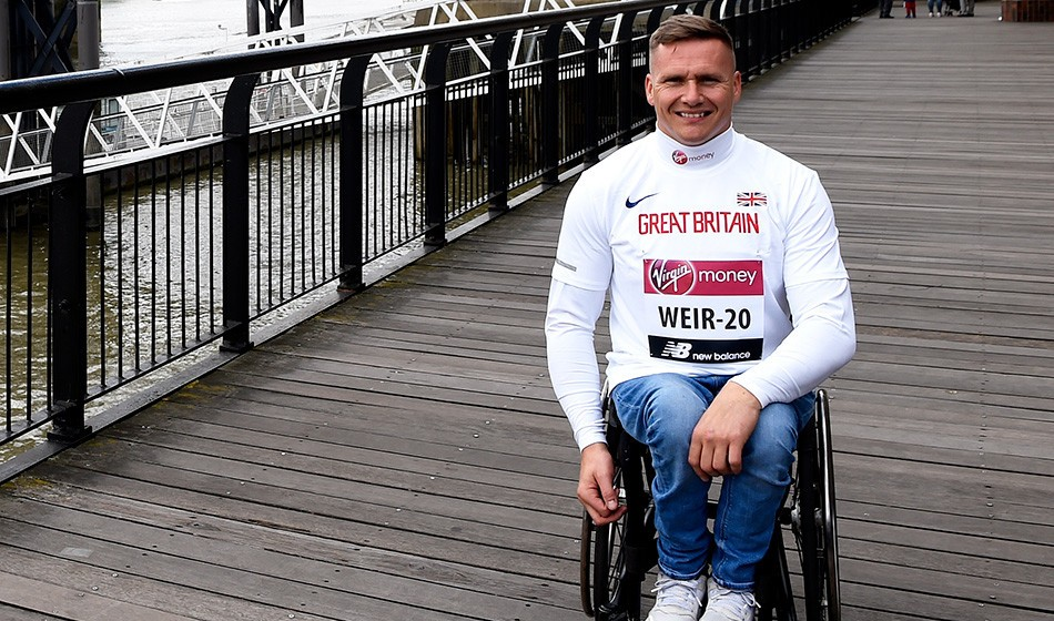 After adversity, David Weir is relishing his international return