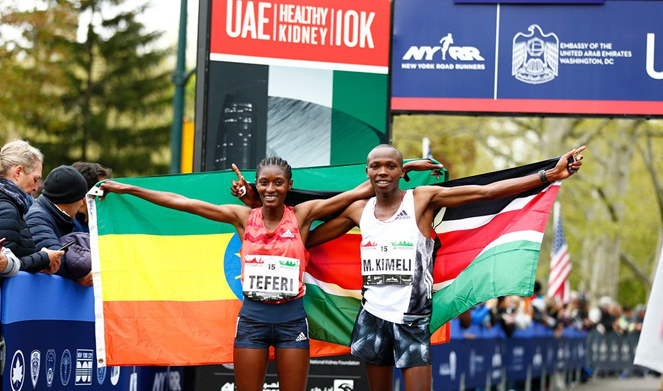 Senbere Teferi and Mathew Kimeli win in New York – weekly round-up